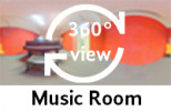 360° view of music room