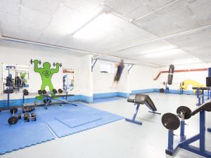 Fitnessraum des ÖJAB-Hauses Eisenstadt.