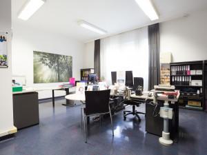 Büro der Heimleitung des ÖJAB-Hauses Donaufeld.