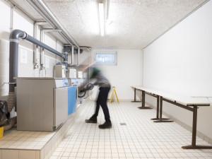 Waschsalon im ÖJAB-Europahaus Dr. Bruno Buchwieser.