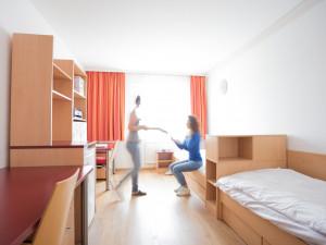 Zweibettzimmer des ÖJAB-Hauses Burgenland 3.