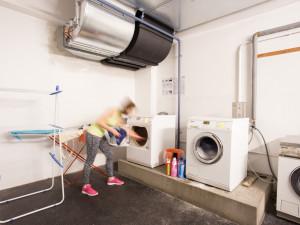 Waschsalon des ÖJAB-Hauses Burgenland 1.
