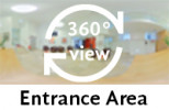 360° view of entrance area