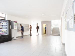 Eingangsbereich des ÖJAB-Europahauses Dr. Brunobuchwieser.