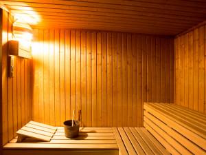 Sauna des ÖJAB-Hauses Salzburg in Wien.