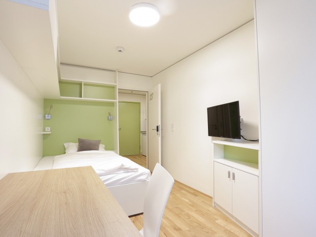 Single Room of the ÖJAB-Haus Niederösterreich 1.