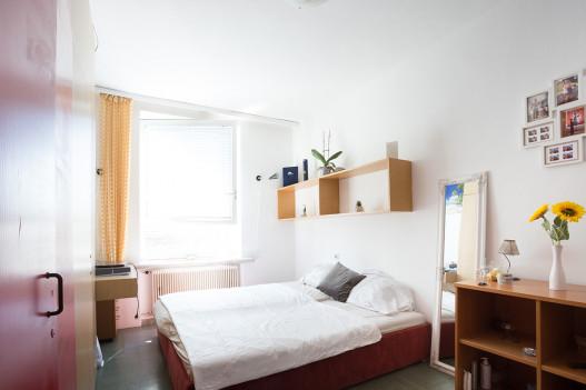 Big Single Room of the ÖJAB-Haus Peter Jordan.