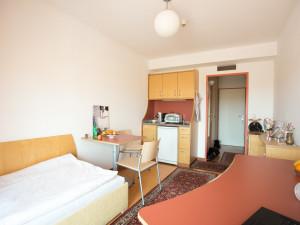 Einbettzimmer im ÖJAB-Haus Eisenstadt.