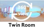 360°-view Twin Room