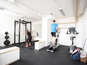 Fitnessraum des ÖJAB-Europazentrums Krems.