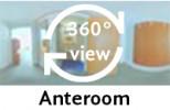 360° view of anteroom