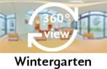 360-Grad-Aufnahme: Wintergarten