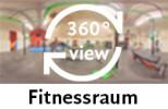 360-Grad-Aufnahme: Fitnessraum