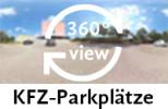 360-Grad-Aufnahme der KFZ-Parkplätze