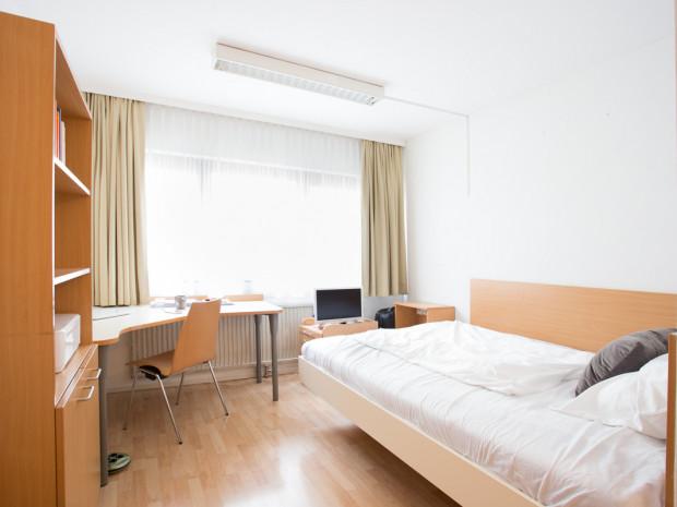 Einbettzimmer des ÖJAB-Hauses Burgenland 1.