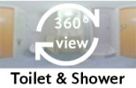 360-view of a bathroom