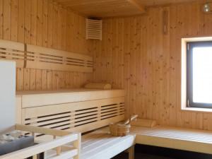Sauna des ÖJAB-Hauses Bad Gleichenberg.