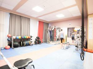 Fitnessraum des ÖJAB-Hauses Burgenland 3.