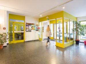 Eingangsbereich des ÖJAB-Hauses Burgenland 1.