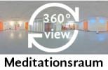 360-Grad-Aufnahme Meditationsraum