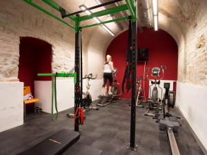 Fitness room of the ÖJAB-Haus Johannesgasse.
