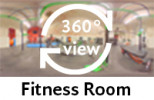 360° view of fitness room
