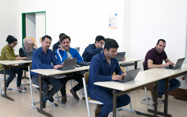 AMIF course participants at the BPI of ÖJAB.