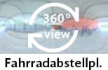 360-Grad-Aufnahme des Fahrradabstellplatzes