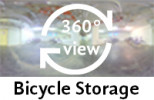 360-view of bicycle storage