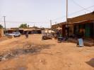 Straßenszene in Ouagadougou, der Hauptstadt Burkina Fasos.