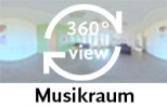 360-Grad-Aufnahme: Musikraum