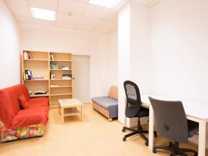 Small lecture room of the ÖJAB-Haus Steiermark.