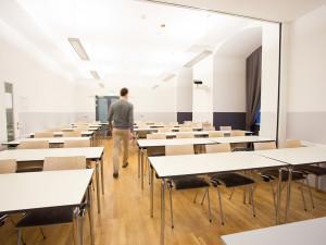 Seminarraum des ÖJAB-Hauses Graz.
