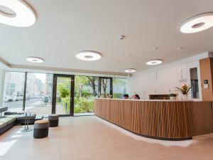 Reception area of ÖJAB-Haus Niederösterreich 1.
