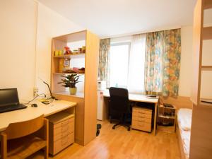Zweibettzimmer im ÖJAB-Haus Steiermark.