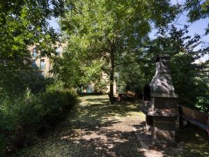 Garten des ÖJAB-Hauses Eisenstadt.