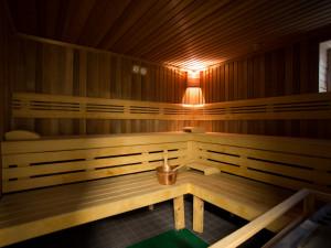 Sauna im ÖJAB-Europahaus Dr. Bruno Buchwieser.